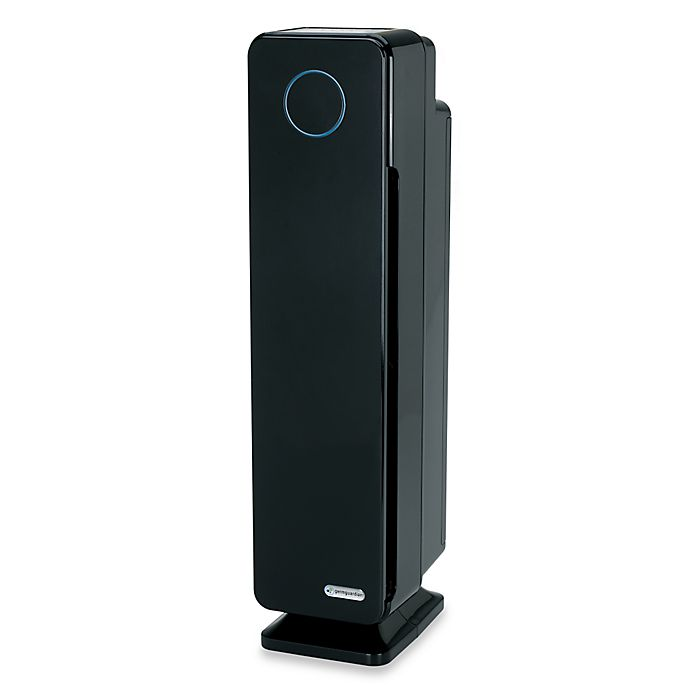 Alternate image 1 for GermGuardian® Elite 28-Inch 4-in-1 Digital HEPA Tower with UV-C Air Purifier and Digital Display