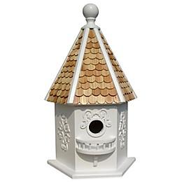 Home Bazaar Rapunzel Birdhouse in White
