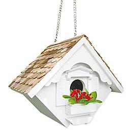 Home Bazaar Little Wren Birdhouse in White