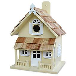 Home Bazaar Victorian Cottage Birdhouse in Butterscotch