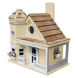 Home Bazaar Flower Pot Cottage Birdhouse