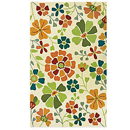 Couristan® Beachfront Collection Poppy Field Rug