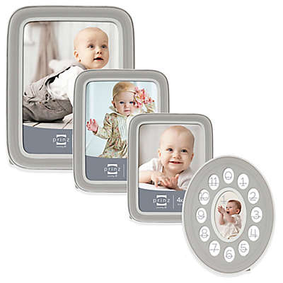Prinz Sweet Dreams Resin Picture Frame in Grey/White