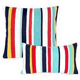 Liora Manne Riviera Stripe Outdoor Throw Pillow