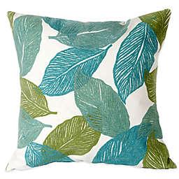 Liora Manne Mystic Leaf 20-Inch x 20-Inch Outdoor Throw Pillow