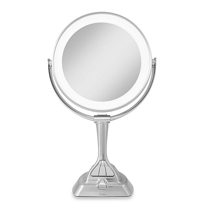 Led Variable Light Vanity Mirror 1x 10x, Zadro Makeup Mirror Replacement Bulbs