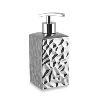 Taymor Chrome Crush Square Lotion Dispenser
