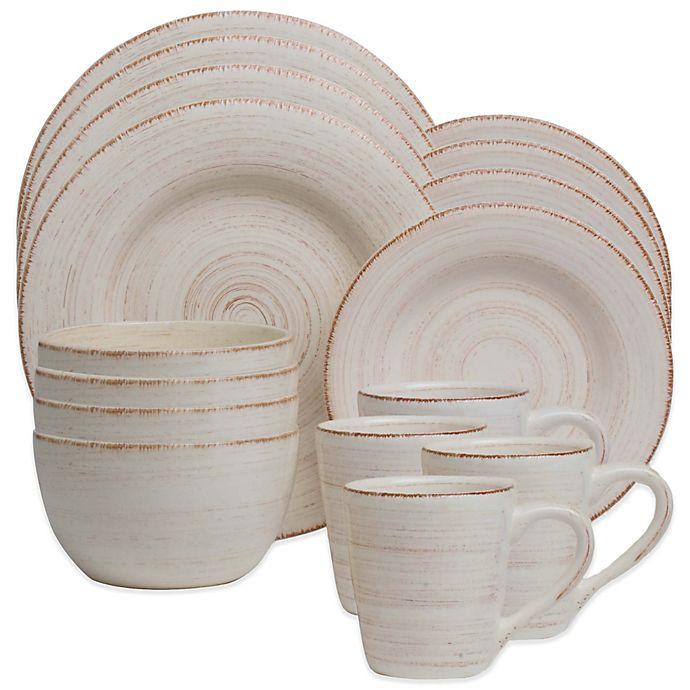 Alternate image 1 for Sonoma 16-Piece Dinnerware Set in Ivory