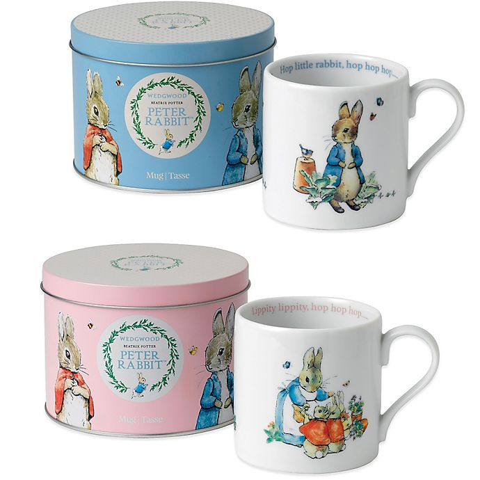 Alternate image 1 for Wedgwood® Peter Rabbit Mug in a Tin
