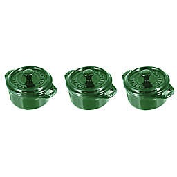 Staub Round Mini Cocotte (Set of 3)