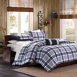 Mizone Eiliot Comforter Set in Blue