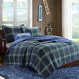Mi Zone Brody Twin/Twin XL Coverlet Set in Blue