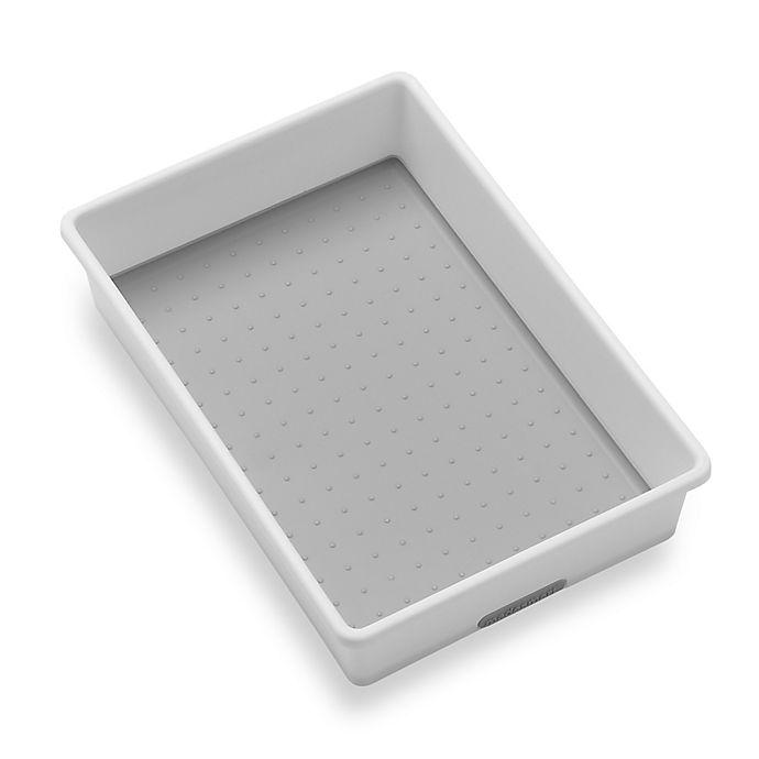 Alternate image 1 for madesmart® 6-Inch x 9-Inch Drawer Organizer in White/Grey