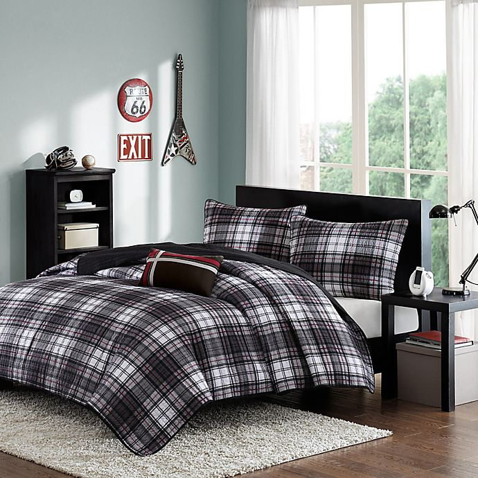 Alternate image 1 for Harley Reversible Twin/Twin XL Coverlet Set