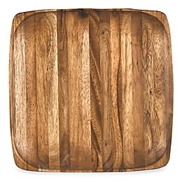 "Kona Wood 12"" Square Plate"