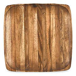 """Kona Wood 12"""" Square Plate"""
