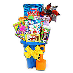 Alder Creek Jumbo Easter Treats Sand Pail Gift Basket