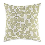 Make-Your-Own-Pillow Lachute Square Throw Pillow Cover in Green