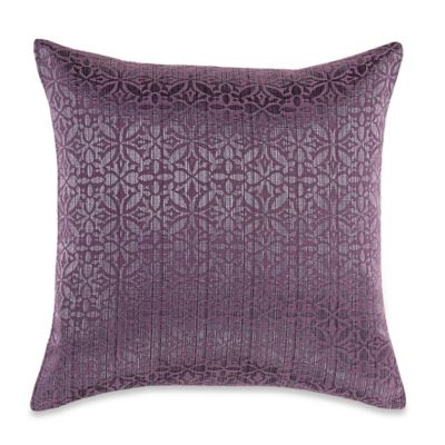 Myop Orchid Square Throw Pillow Cover In Purple Bed Bath
