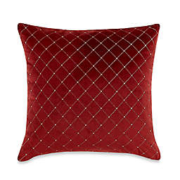 14 99 Myop Quilted Diamond Square Throw Pillow Cover