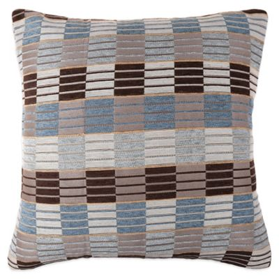 Make Your Own Pillow Stripe Ladder Square Throw Pillow Cover In