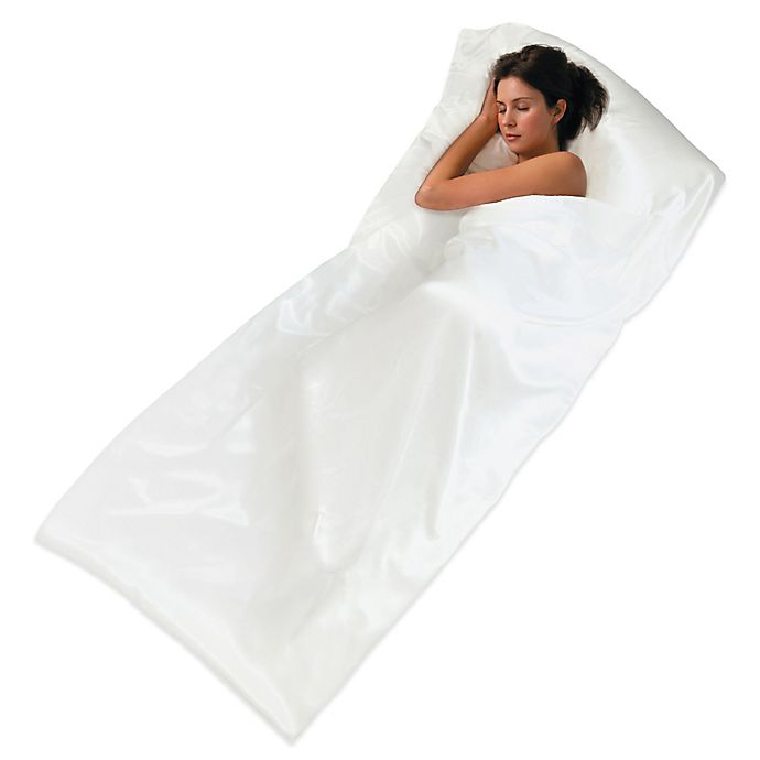 Alternate image 1 for TravelFresh™ Sleepsack® in White