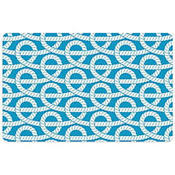 Bungalow Flooring 23-Inch x 36-Inch Nautical Knot Accent Kitchen Mat