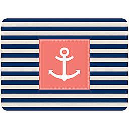 Bungalow Flooring 23-Inch x 36-Inch Anchor Stripe Accent Kitchen Mat
