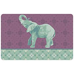 Bungalow Flooring Elephant 2 23-Inch x 36-Inch Kitchen Mat