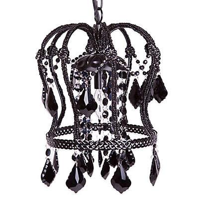 Tadpoles™ by Sleeping Partners Crown Chandelier in Black