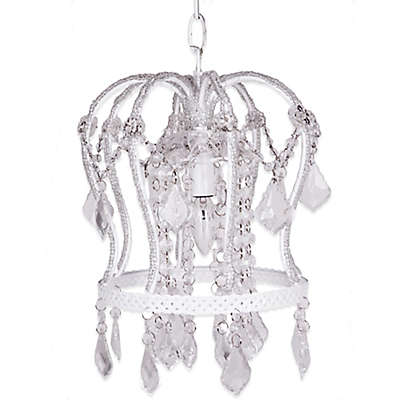 Tadpoles™ by Sleeping Partners Crown Chandelier in White