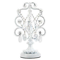 Tadpoles™ by Sleeping Partners Mini Chandelier Table Lamp in White Diamond