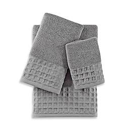 Baltic Linen® Escondido Silver Turkish Cotton Fingertip Towel