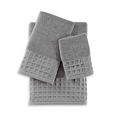 Baltic Linen® Escondido Silver Turkish Cotton Bath Towel Collection