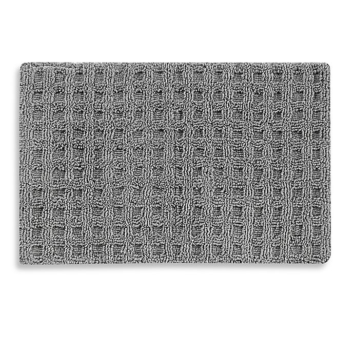 Alternate image 1 for Baltic Linen® Escondido Silver Bath Rug