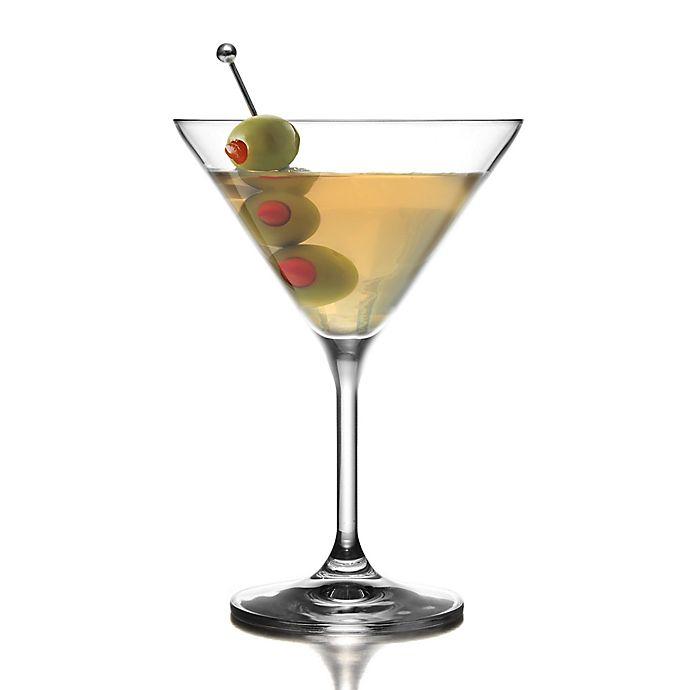 Alternate image 1 for Fitz and Floyd® Giselle Martini Glasses (Set of 4)