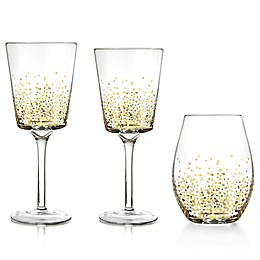 Fitz and Floyd® Luster Gold Wine & Bar Collection