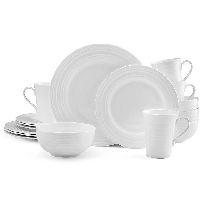 Alternate image 1 for Mikasa® Ciara 16-Piece Dinnerware Set in White