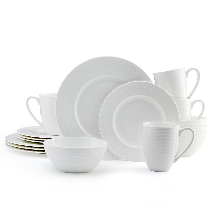 Alternate image 1 for Mikasa® Ortley 16-Piece Dinnerware Set