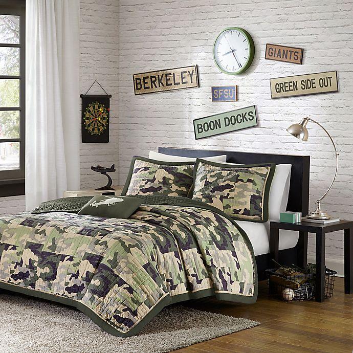 Alternate image 1 for Mi Zone Reagan Animal Printed Comforter Bedding Set
