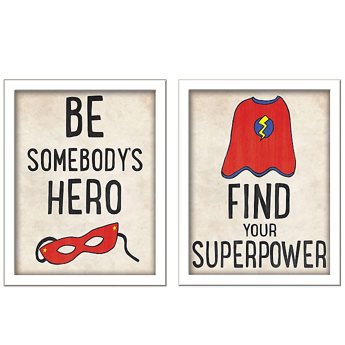 Alternate image 1 for You're the Hero Wall Décor Collection