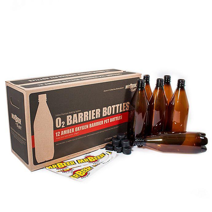 Alternate image 1 for Mr. Beer 2 Gallon Oxygen Barrier Beer Bottling Kit