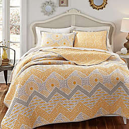 KD Spain Sunnyside Reversible Quilt Set