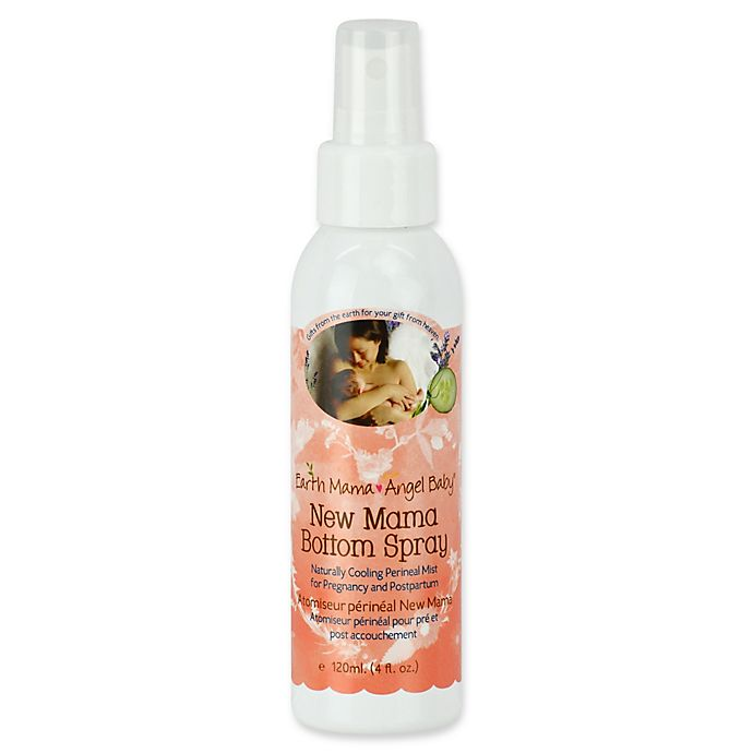 Alternate image 1 for Earth Mama Angel Baby 4 oz. New Mama Bottom Spray