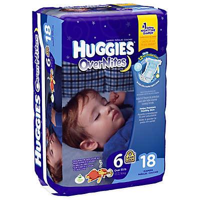 Huggies® Overnites Size 6 Jumbo Pack 18-Count Diapers
