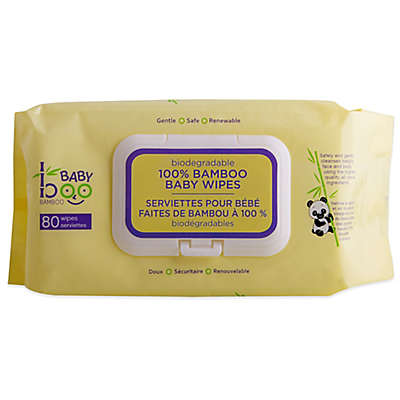 Baby Boo Bamboo 80-Count Baby Wipes