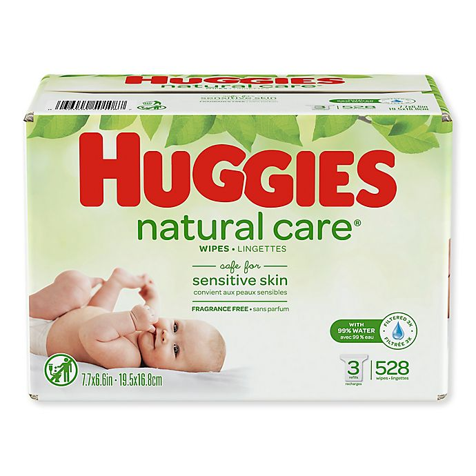 Alternate image 1 for Huggies® 528-Count Natural Care® Wipes