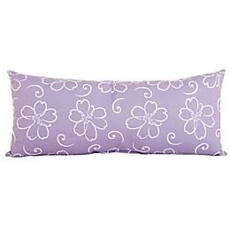 Glenna Jean Lulu Flower Bolster in Lavender