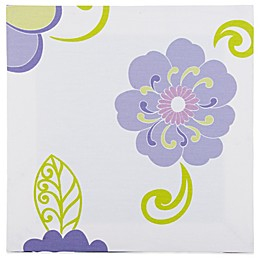 Glenna Jean Lulu Flower Print Canvas Wall Art in White