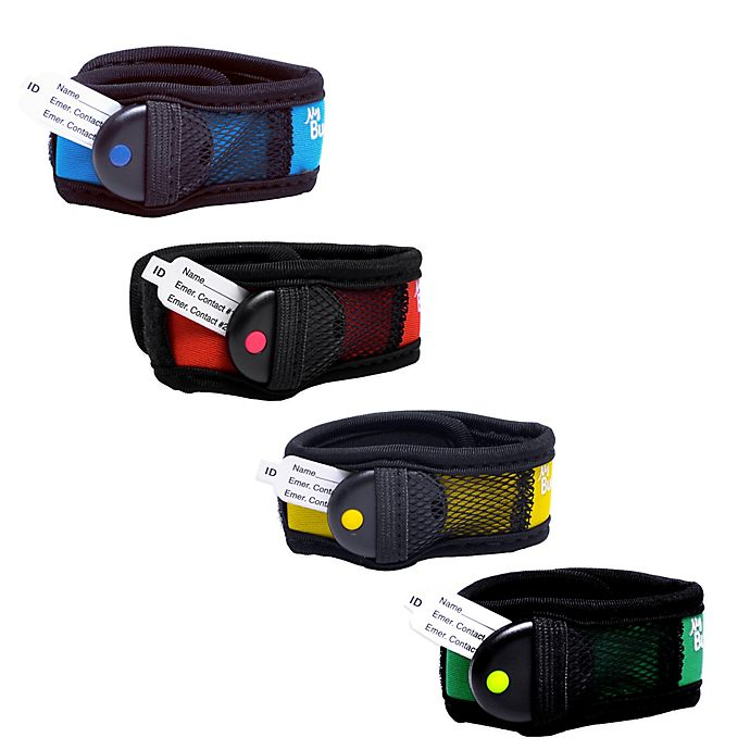 Alternate image 1 for BuddyTag™ Child Safety Wristband with Hook and loop fastener®